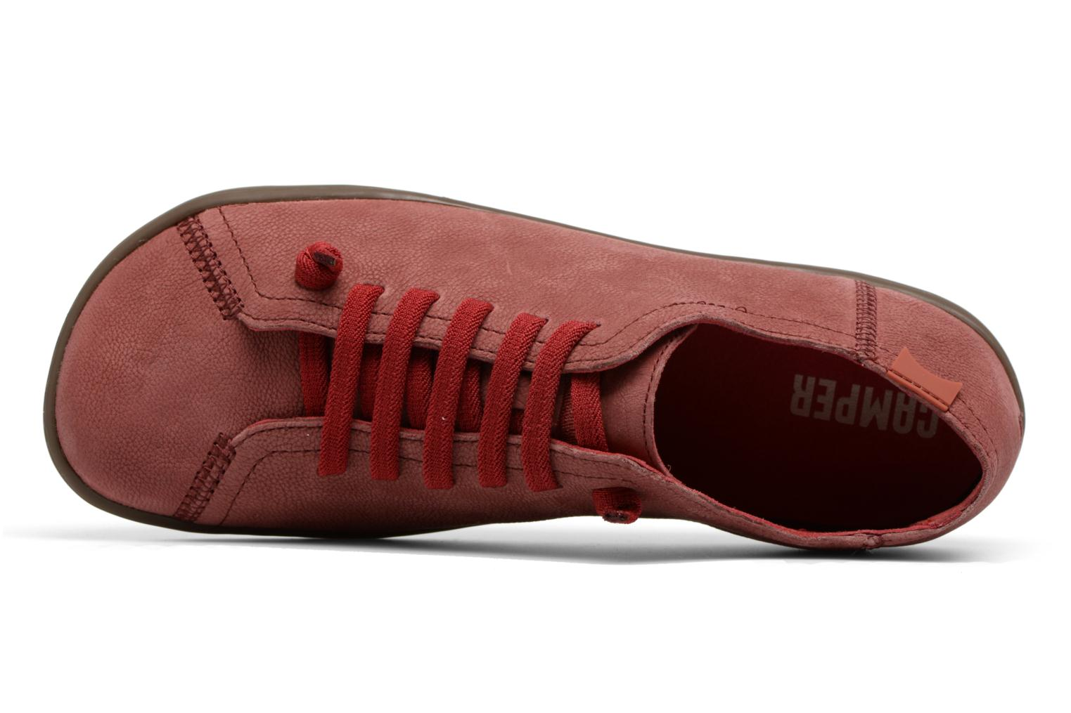 Trainers Camper Peu Cami 4 Red view from the left
