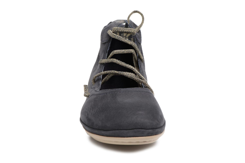 Ballerines Camper Right Nina 3 Bleu vue portées chaussures