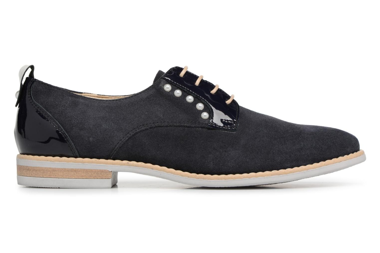 Chaussures à lacets Georgia Rose Ninou Bleu vue derrière
