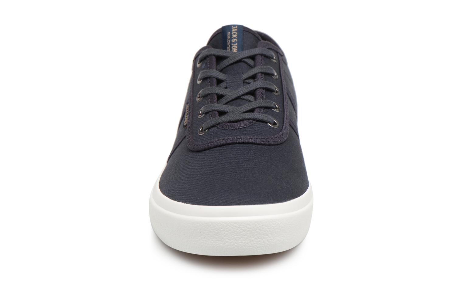 Trainers Jack & Jones JFW Austin Canvas Blue model view