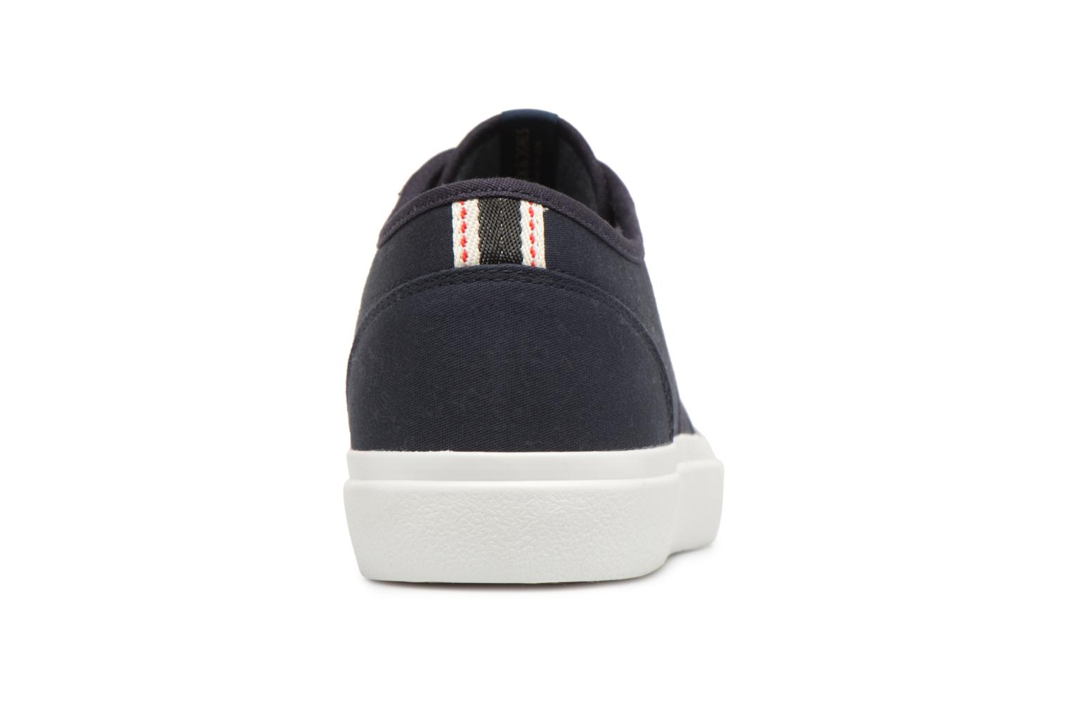 Trainers Jack & Jones JFW Austin Canvas Blue view from the right