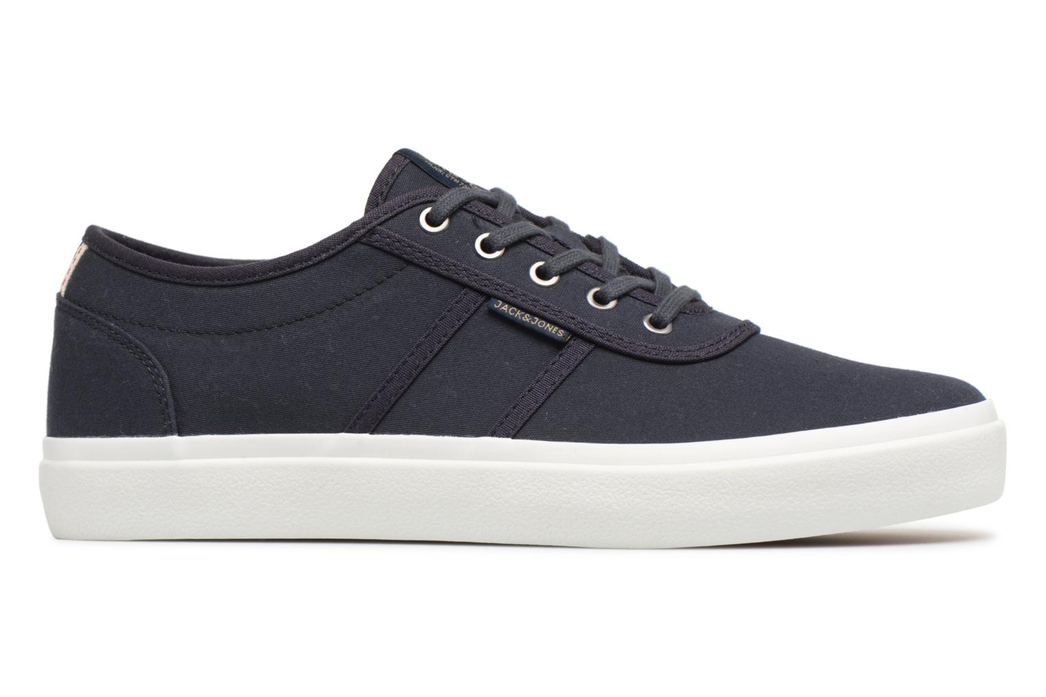 Trainers Jack & Jones JFW Austin Canvas Blue back view