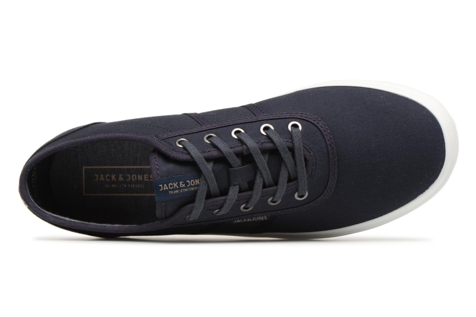 Trainers Jack & Jones JFW Austin Canvas Blue view from the left