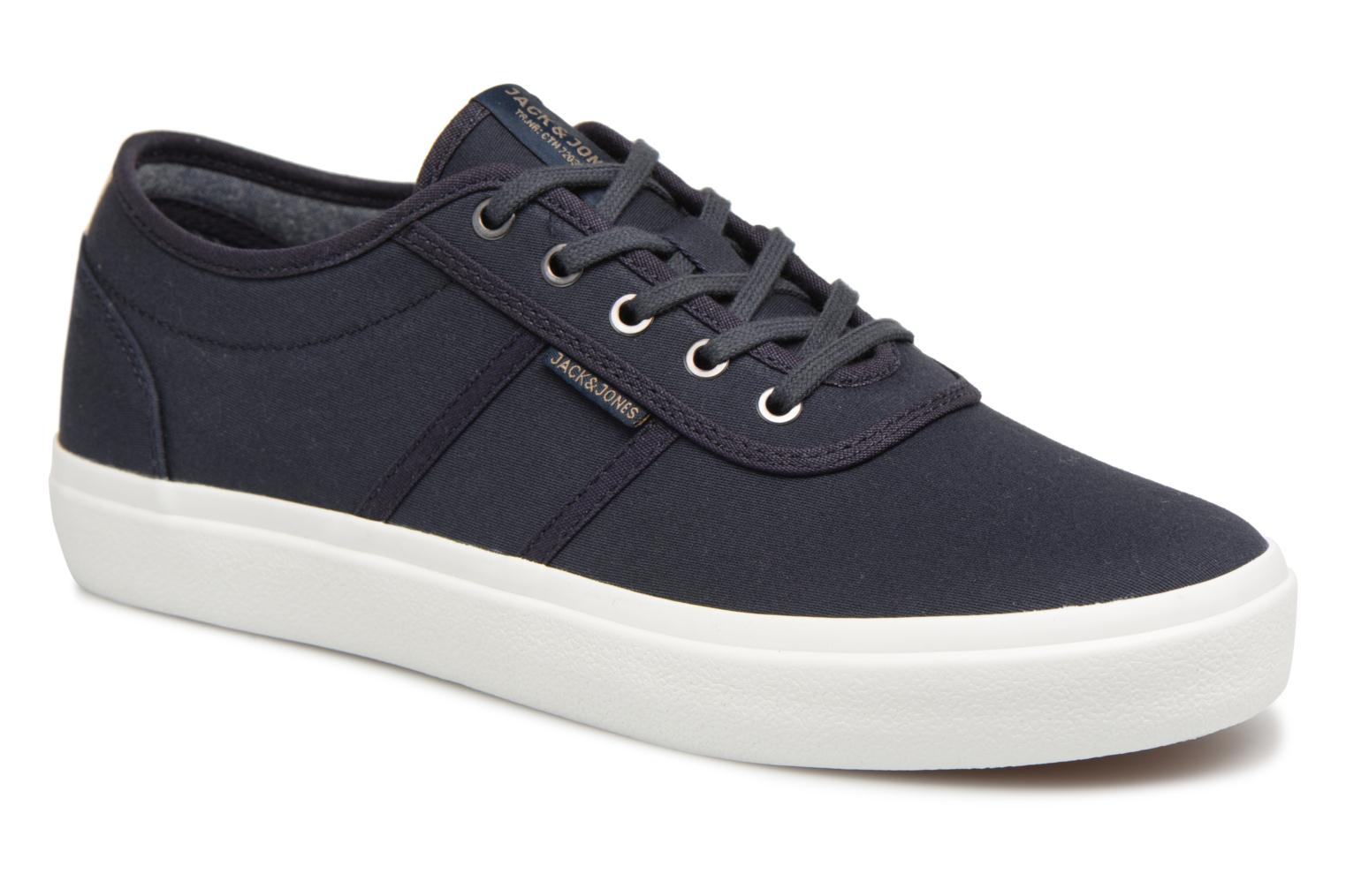 Trainers Jack & Jones JFW Austin Canvas Blue detailed view/ Pair view