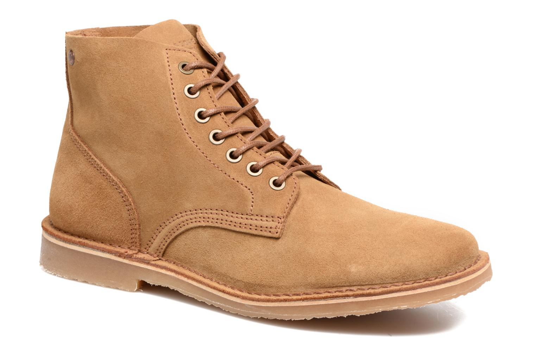 Bottines et boots Jack & Jones JFW Bruce Suede Marron vue détail/paire