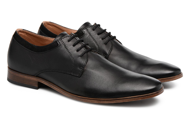 Chaussures à lacets Mr SARENZA Sberry Noir vue derrière