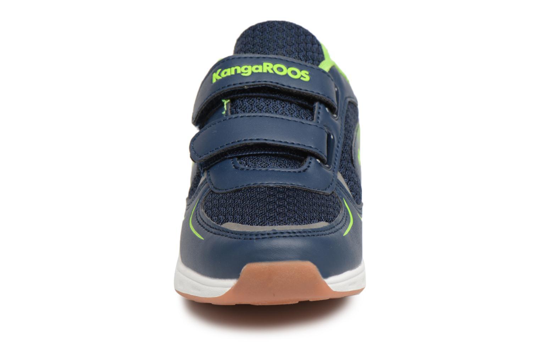 Baskets Kangaroos Roji V Bleu vue portées chaussures
