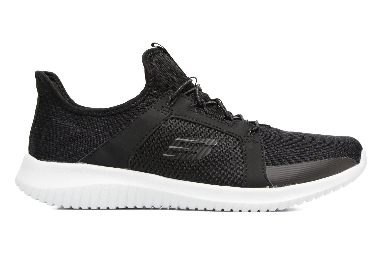 Chaussures de sport Skechers Ultra Flex-Jaw Dropper Noir vue derrière
