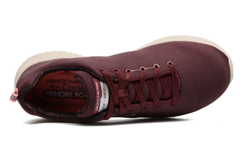 Chaussures de sport Skechers Ultra Flex-First Choice Bordeaux vue gauche