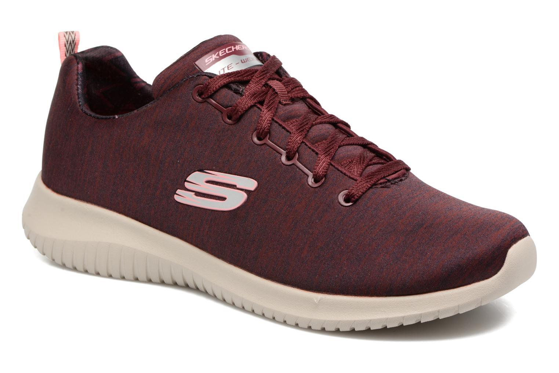 Chaussures de sport Skechers Ultra Flex-First Choice Bordeaux vue détail/paire