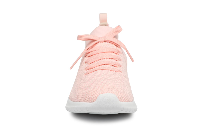 Chaussures de sport Skechers Ultra Flex-Statements Rose vue portées chaussures
