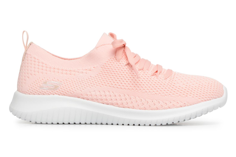 Chaussures de sport Skechers Ultra Flex-Statements Rose vue derrière