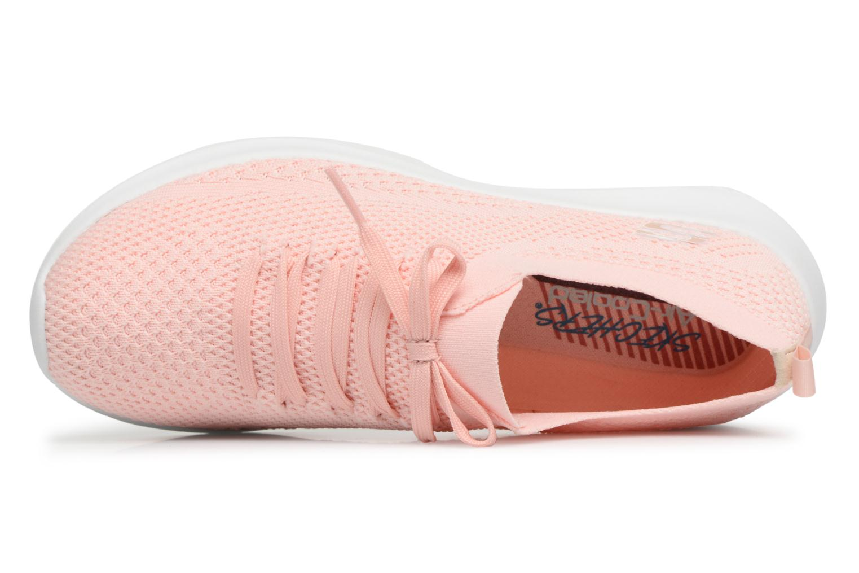 Chaussures de sport Skechers Ultra Flex-Statements Rose vue gauche