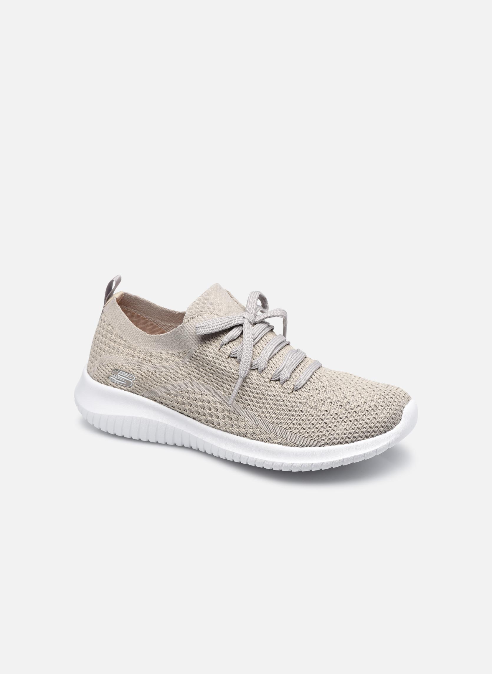 Zapatos promocionales Skechers Ultra Flex-Statements (Gris) - Zapatillas de deporte   Casual salvaje
