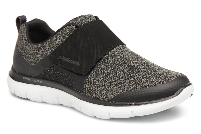Zapatos promocionales Skechers Flex Appeal 2.0- Step forward (Negro) - Deportivas   Venta de liquidación de temporada