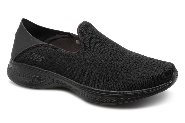 Zapatos promocionales Skechers Go Walk 4-Convertible (Negro) - Deportivas   Zapatos de mujer baratos zapatos de mujer
