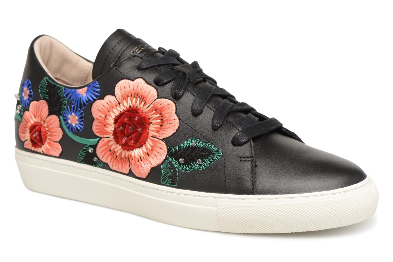big sale 10182 eb53b Zapatos promocionales Skechers Vaso-Flor (Negro) - Deportivas Zapatos  casuales salvajes