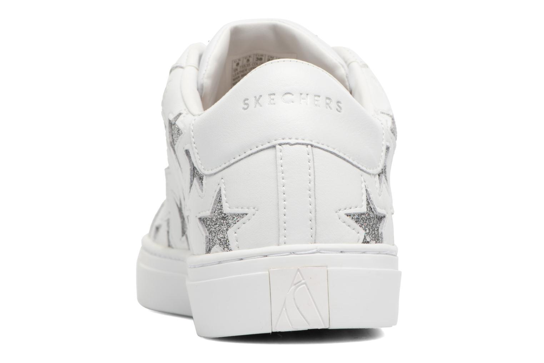 Baskets Skechers Side Street-Star Side Blanc vue droite