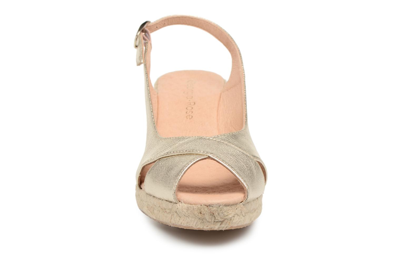 Espadrilles Georgia Rose Delica Or et bronze vue portées chaussures