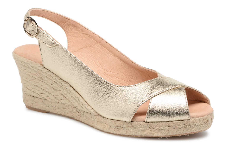 Zapatos promocionales Georgia Rose Delica (Oro y bronce) - Alpargatas   Descuento de la marca