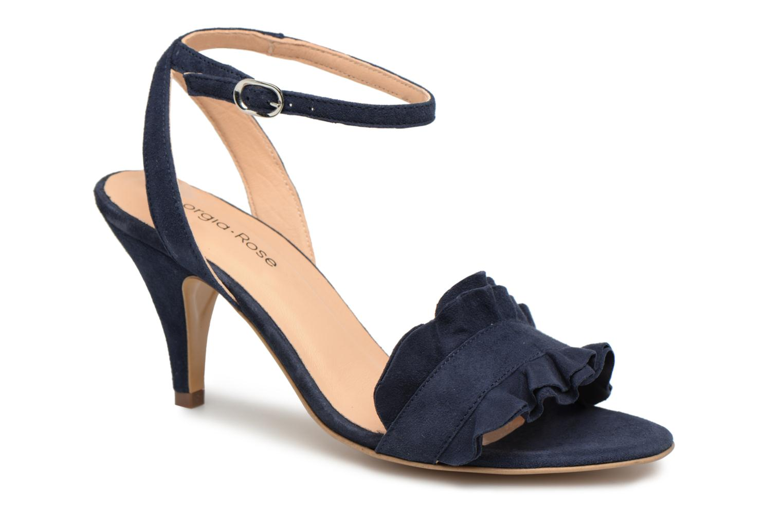 Lyvolan - Sandales Pour Femmes / Bleu Rose Géorgie taIEtYP