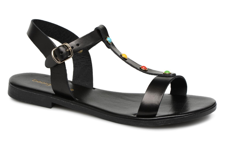 Georgia Rose Miperlou (Noir) - Sandales et nu-pieds chez Sarenza (317561)