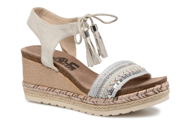 Sandales et nu-pieds Refresh Boxi Gris vue détail/paire