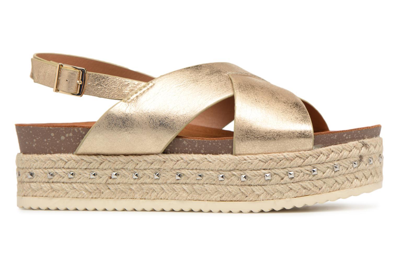 Sandales et nu-pieds Refresh Onos Or et bronze vue derrière