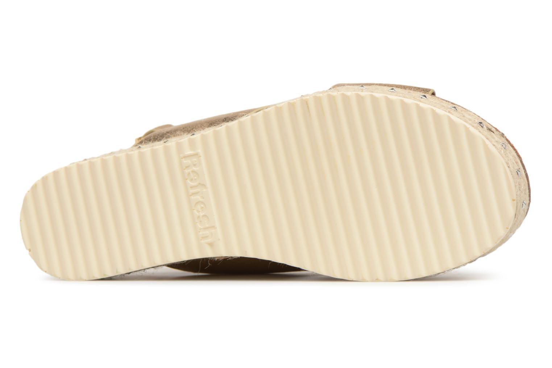 Sandales et nu-pieds Refresh Onos Or et bronze vue haut