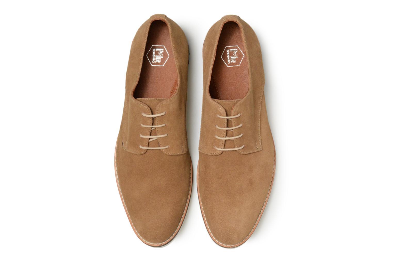 Chaussures à lacets Mr SARENZA Tallow Beige vue portées chaussures