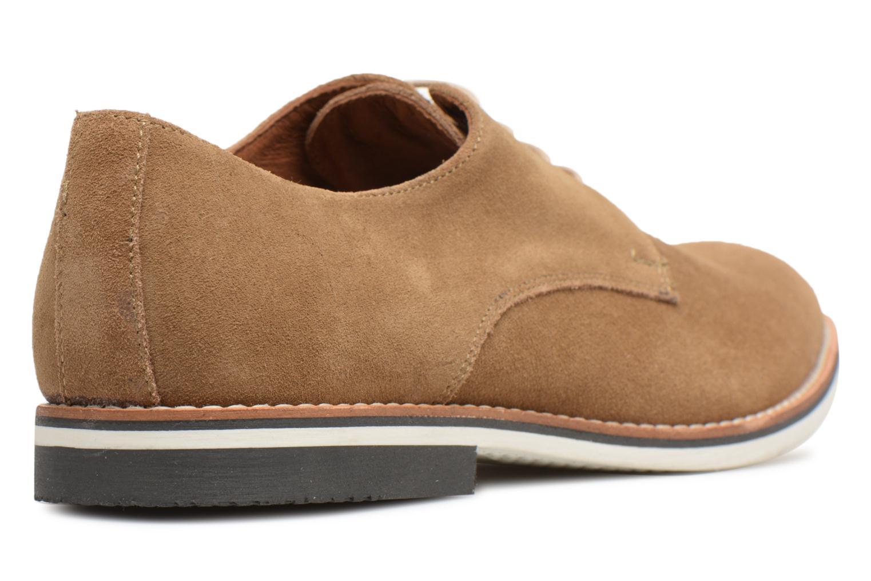 Chaussures à lacets Mr SARENZA Tallow Beige vue face