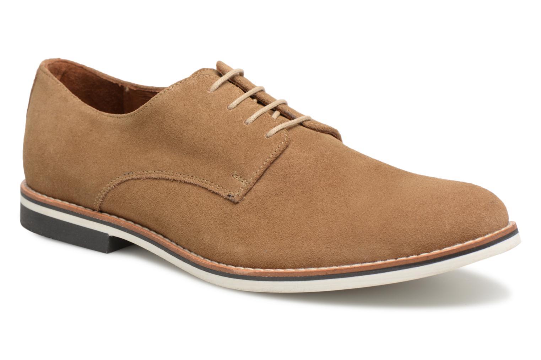 Chaussures à lacets Mr SARENZA Tallow Beige vue droite
