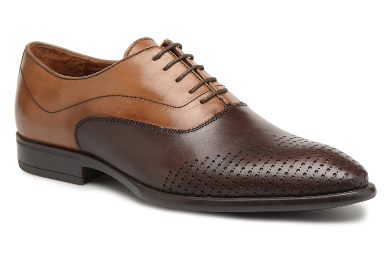 Veterschoenen Marvin&Co Tiperf Bruin detail