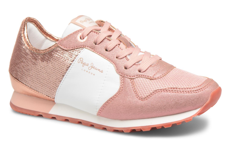 Zapatos promocionales Pepe jeans Verona W Sequins (Rosa) - Deportivas   Los zapatos más populares para hombres y mujeres