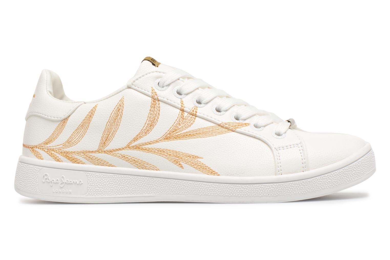 Baskets Pepe jeans Brompton Embroidery Blanc vue derrière