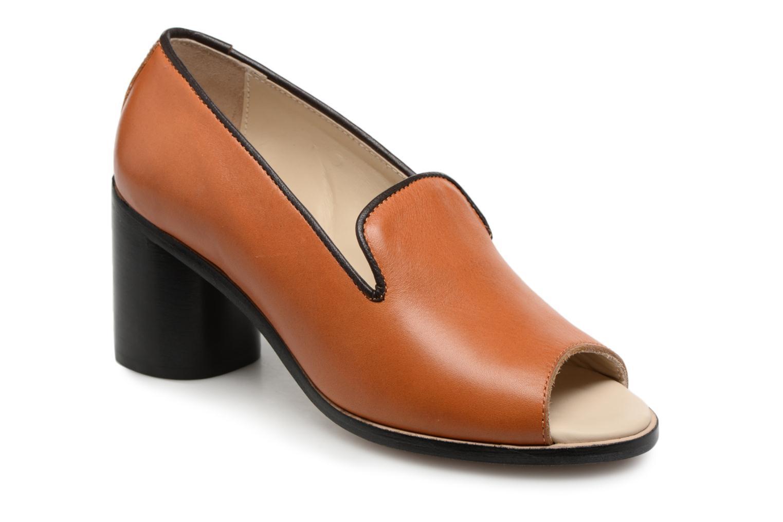 ZapatosDeux Souliers (Marrón) Loafer Peep Heel #1 (Marrón) Souliers - Zapatos de tacón   Casual salvaje 1ea68c
