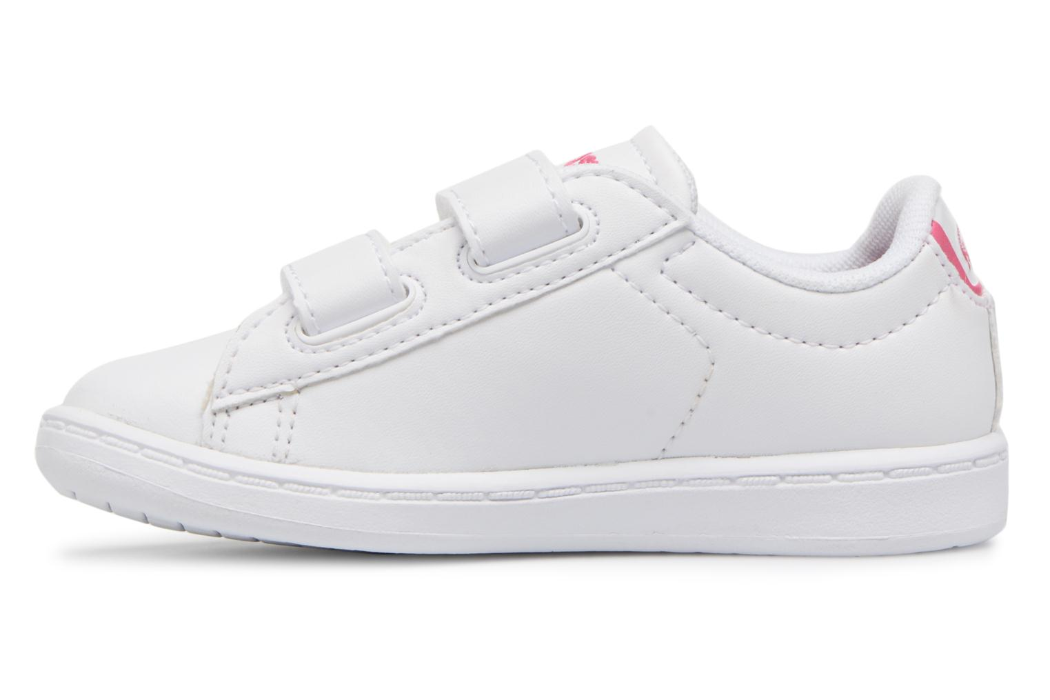 Baskets Lacoste Carnaby Evo BL 1 Inf Blanc vue face