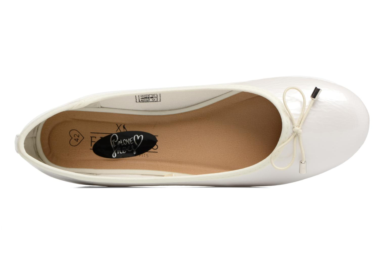 Ballerines I Love Shoes THAVE 2 Size + Beige vue gauche