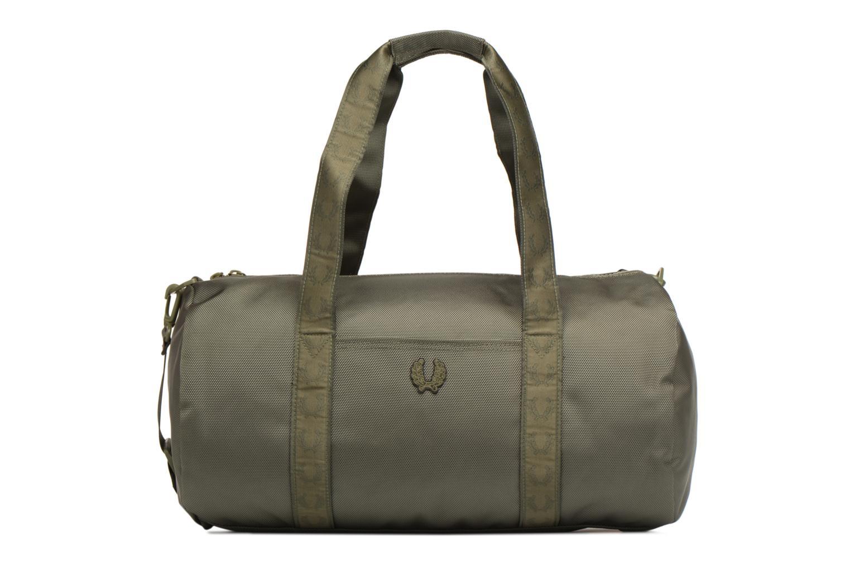 Sporttaschen Fred Perry Tonal Track Barrel Bag grün detaillierte ansicht/modell