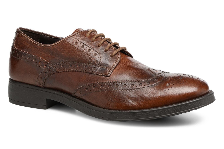 Geox Uomo Blaxe U6482D (Marron) - Chaussures à lacets chez Sarenza (317984)
