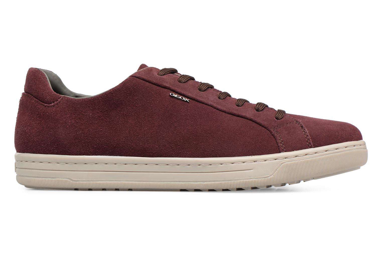 Sneakers Geox Uomo Rikin U64W1F Bordeaux achterkant