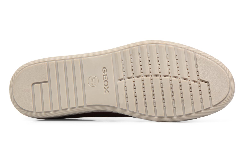 Sneakers Geox Uomo Rikin U64W1F Bordeaux boven