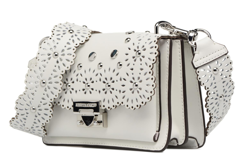 Sacs à main Rebecca Minkoff Christy SM Shoulder Bag Blanc vue portées chaussures