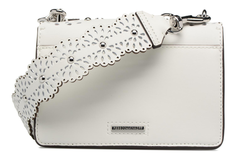 Sacs à main Rebecca Minkoff Christy SM Shoulder Bag Blanc vue face