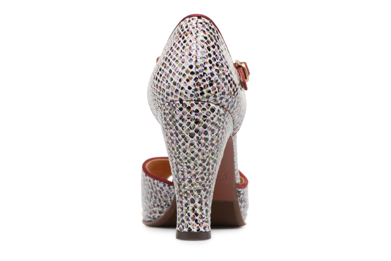 High heels Chie Mihara Fan32 Multicolor view from the right
