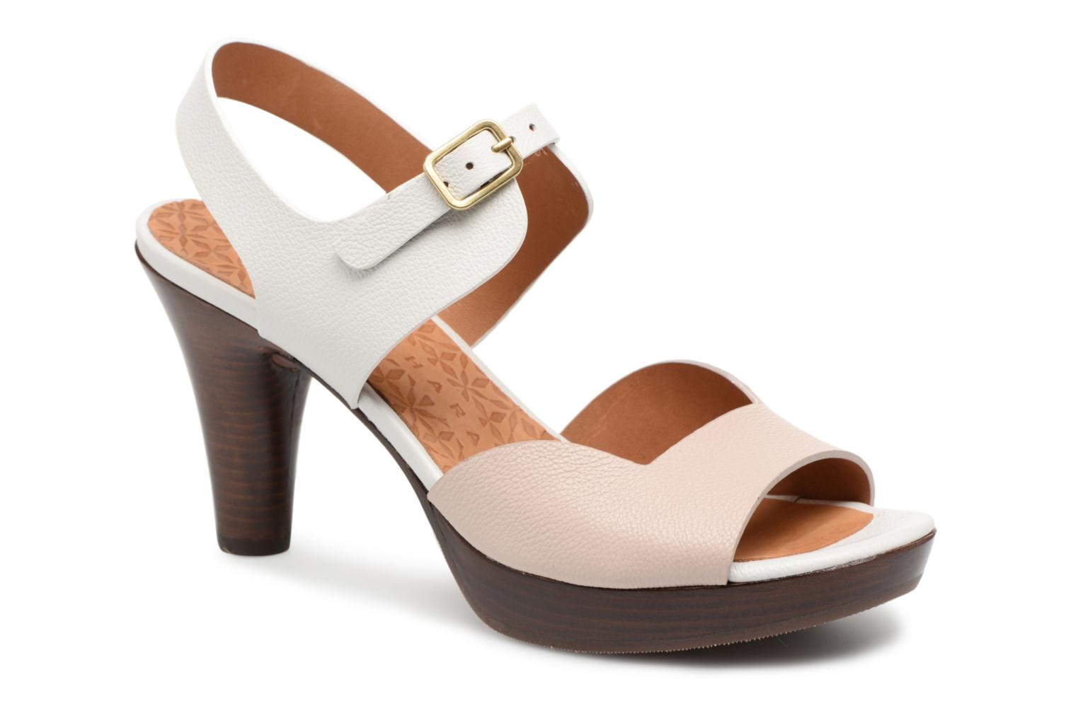 Sandals Chie Mihara Loteria32 Beige detailed view/ Pair view