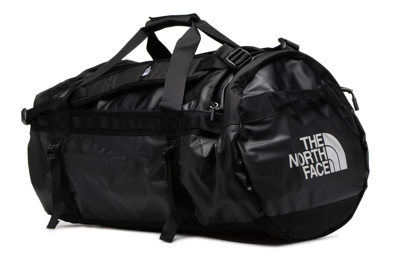 Sporttaschen The North Face BASE CAMP DUFFEL - L schwarz schuhe getragen