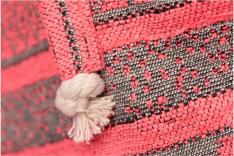 Handtassen Pieces Grace Canvas Shopper Roze links