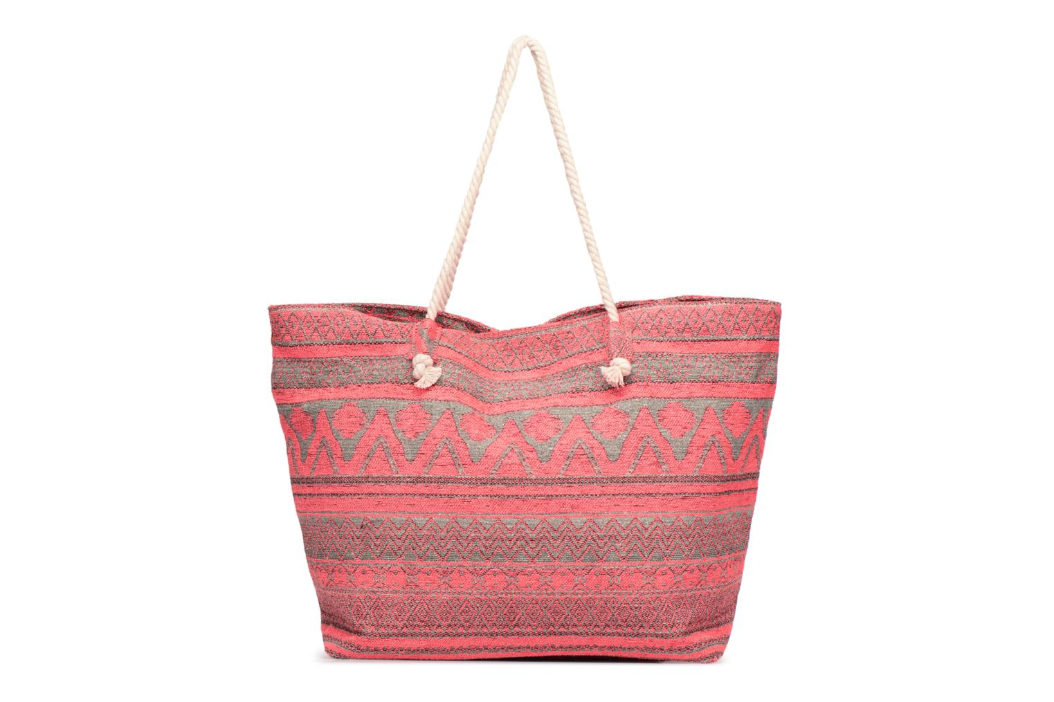 Handtassen Pieces Grace Canvas Shopper Roze detail