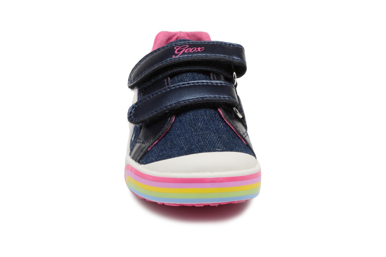 Baskets Geox B KILWI G. C B82D5C Bleu vue portées chaussures